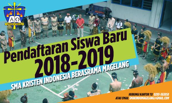 Pendaftaran Siswa Baru SMAKINDO 2018/2019